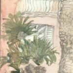 Facade with Palm